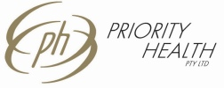 Priority Health Pty Ltd Home