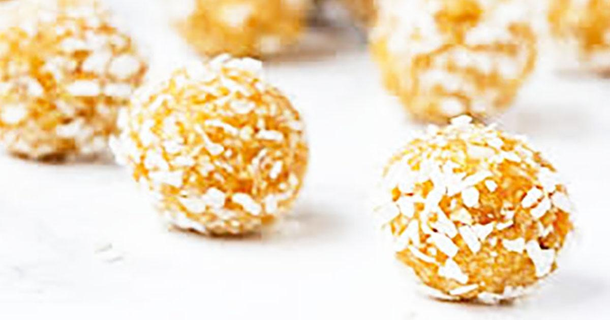 Premium Choice Vegan Apricot & Almond Energy Bites