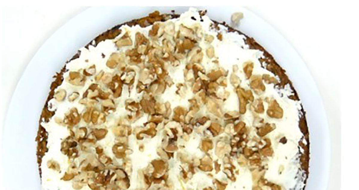 Premium Choice Gluten Free Carrot & Walnut Cake
