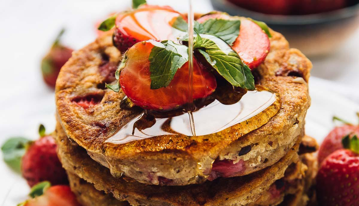 Premium Choice Gluten Free Strawberry Buckwheat Pancakes