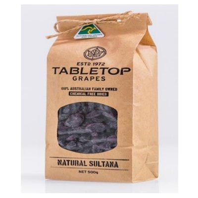 Tabletop Natural Sultana Large 20x500g