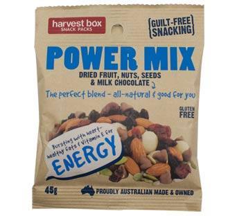 Harvest Box Snack Packs Power Mix G/F 10x45g