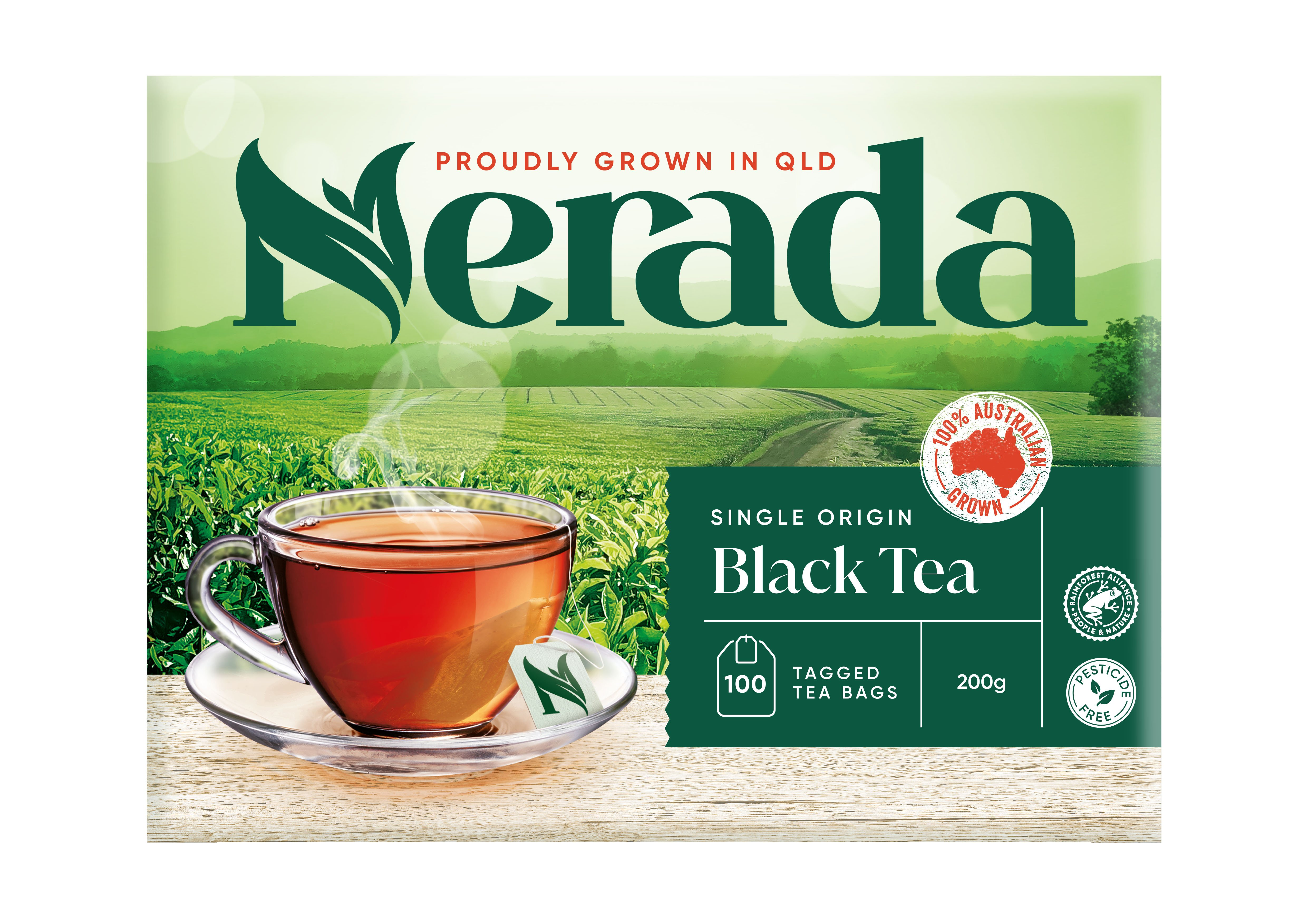 Nerada Cup Teabags 200g 5x100