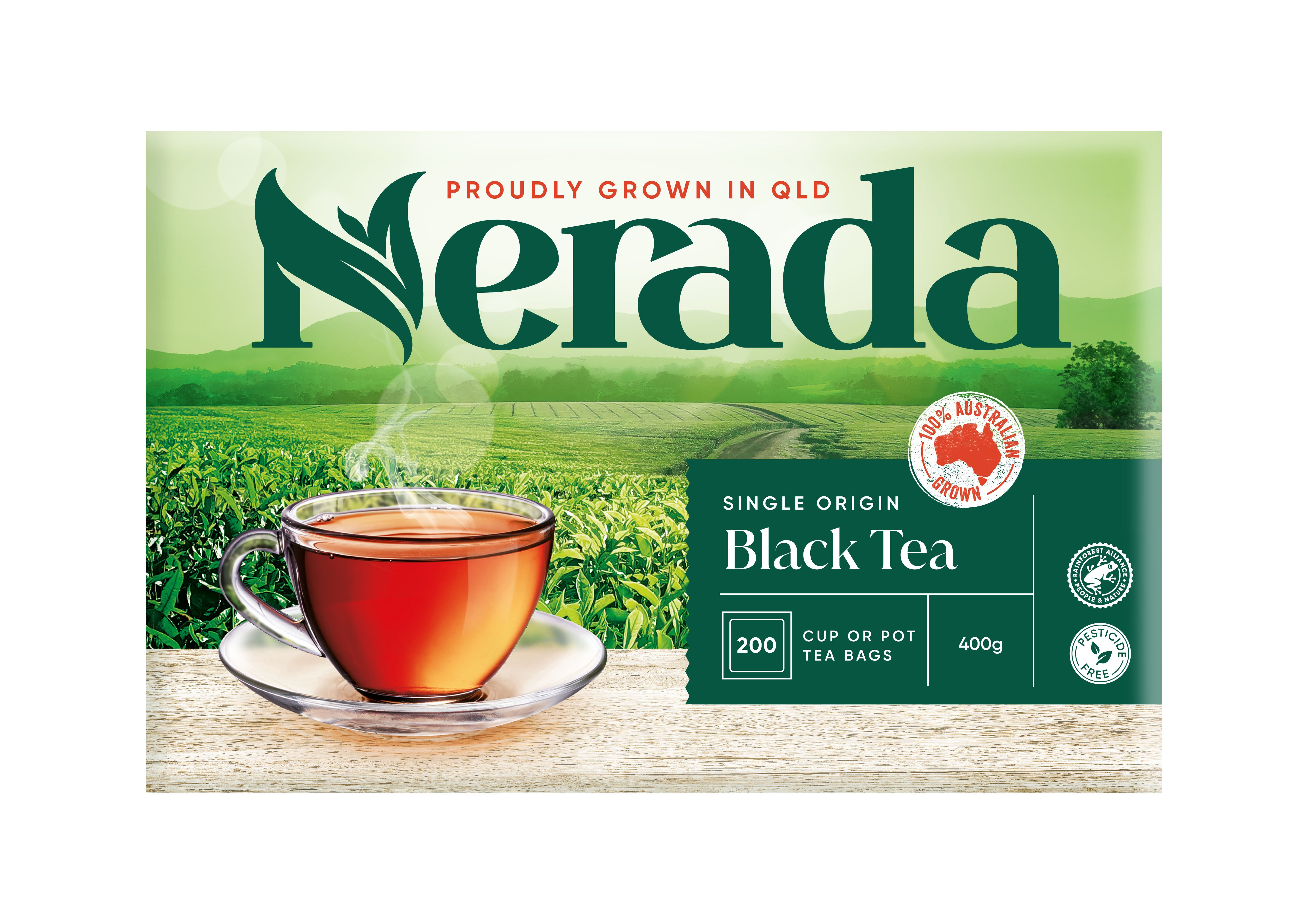Nerada Cup or Pot Teabags 400g 4x200