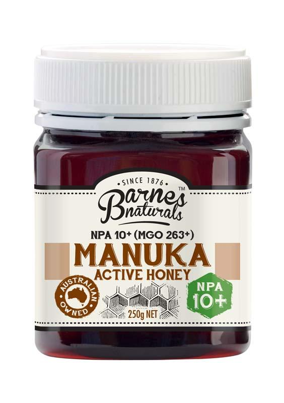 Barnes Natural Active 10+ Manuka Honey 6x250g