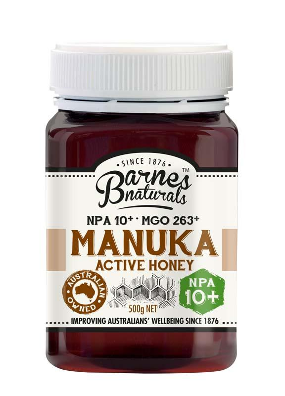 Barnes Natural Active 10+ Manuka Honey 6x500g