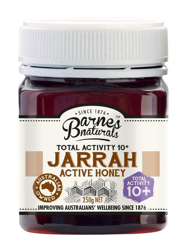 Barnes Natural Jarrah TA10+ Honey 6x250g