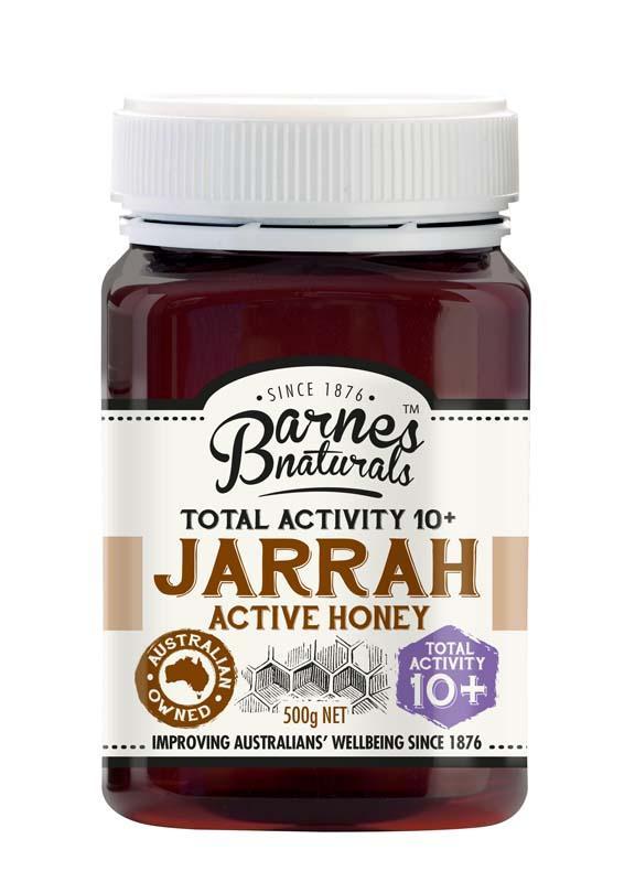 Barnes Natural Jarrah TA10+ Honey 6x500g