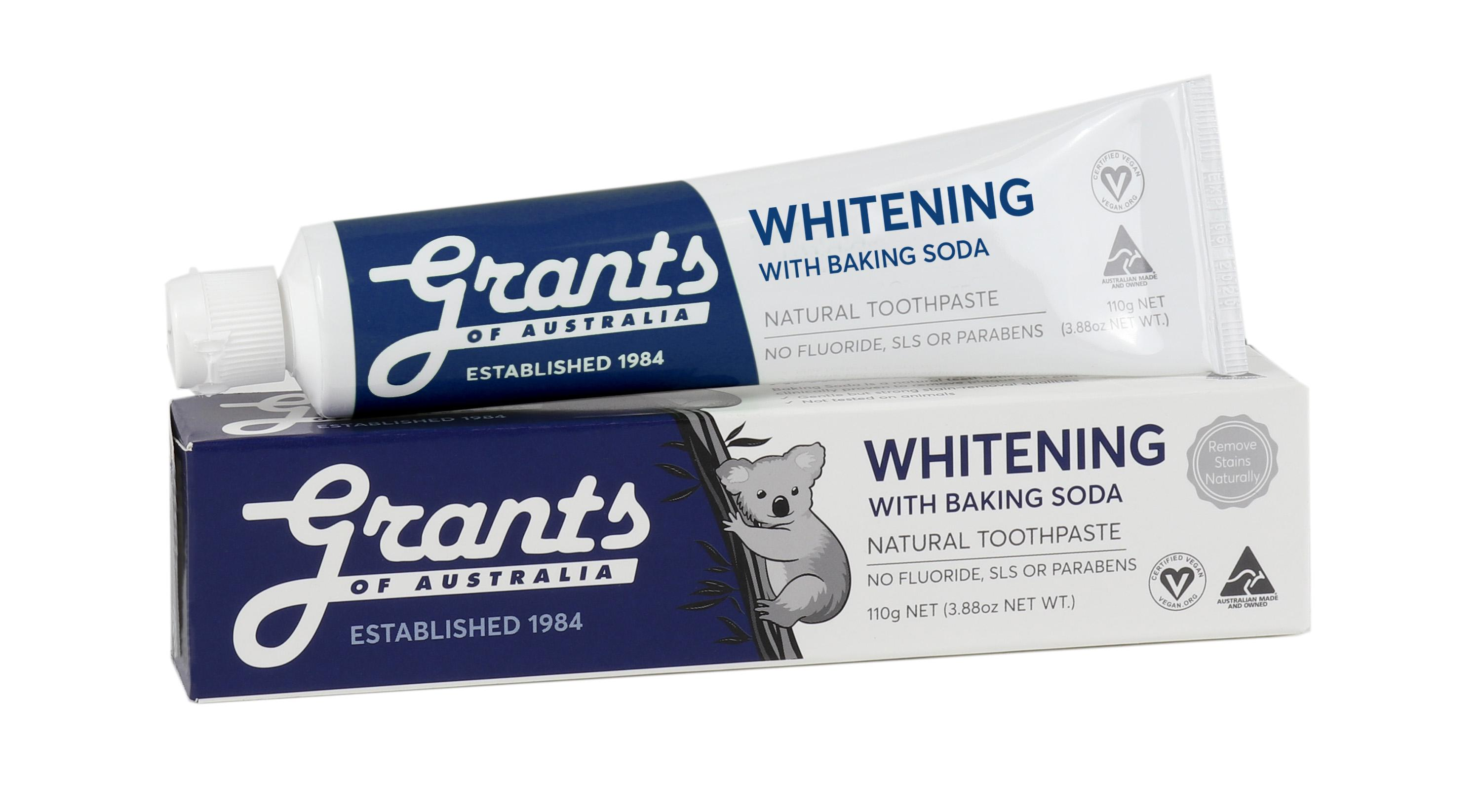 Whitening with Baking Soda Natural Toothpaste 110g