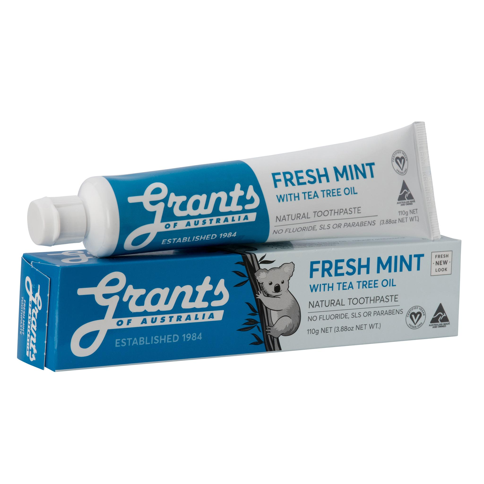 Grants Extra Fresh Toothpaste with Tea Tree Oil 110g