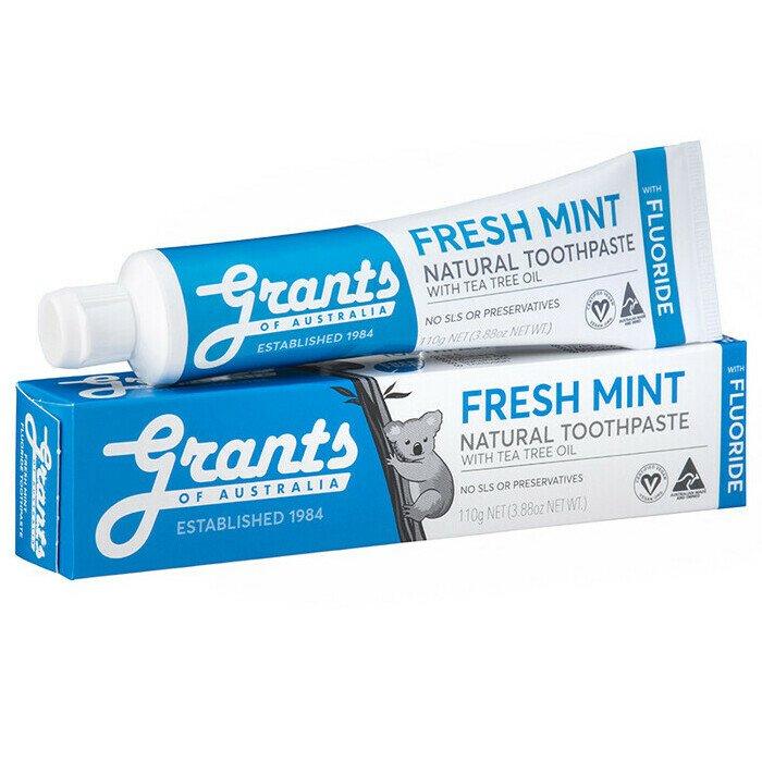 Fresh Mint Fluoride Toothpaste 110g