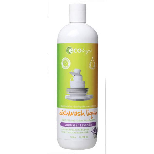 Ecologic Australian Lavender Dishwashing Liquid 500ml