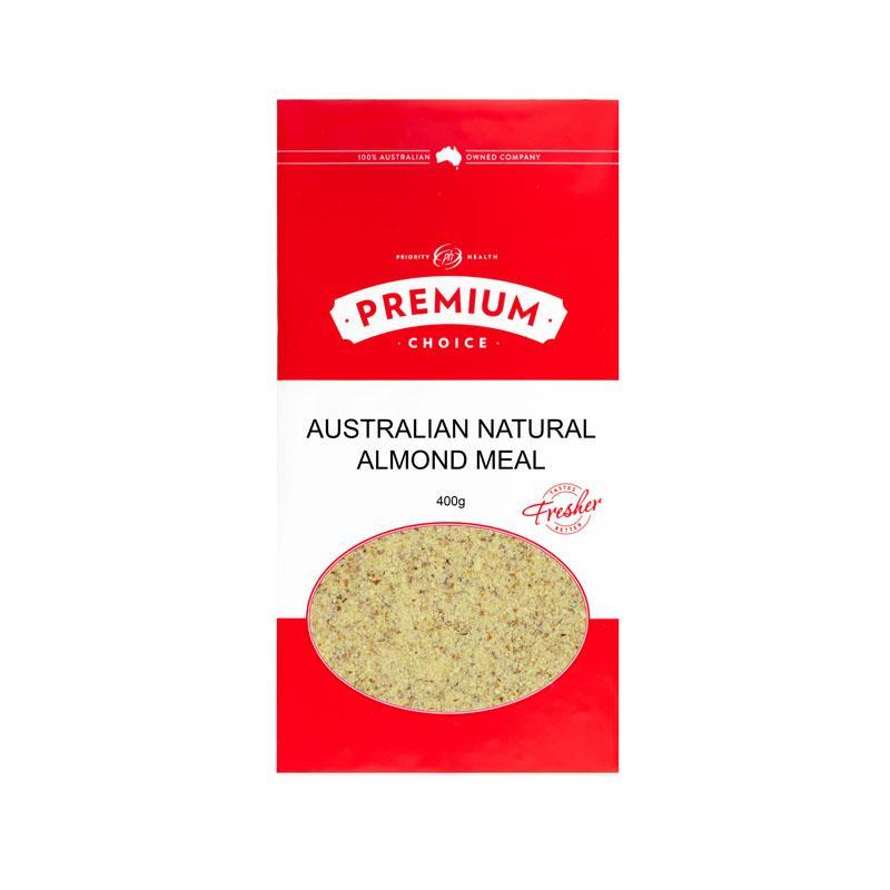 Natural Almond Meal/Flour Australian (10x400g)