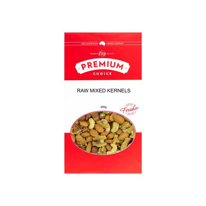 Premium Choice Raw Mixed Kernels (No Peanuts) 12x400g