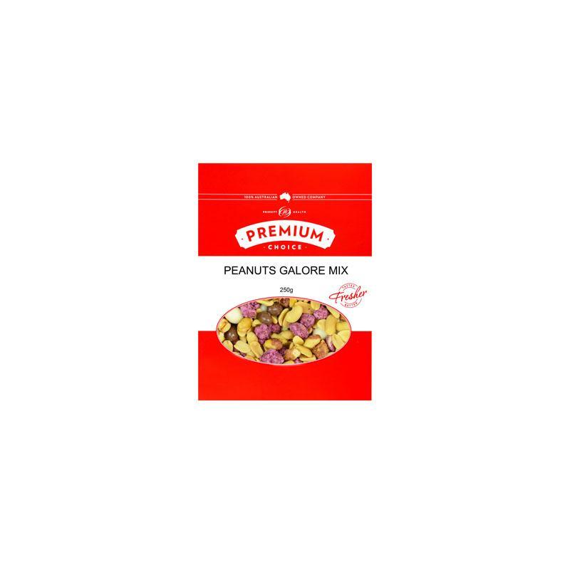 Premium Choice Peanuts Galore Mix 15x250g