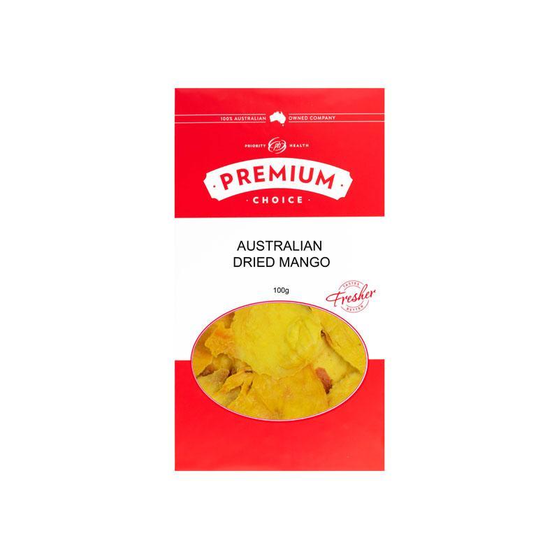 Australan Sulphur Free Dried Mango 10x100g