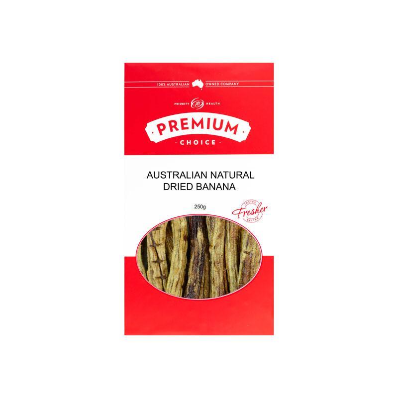 Premium Choice Australian Whole Dried Banana 15x250g