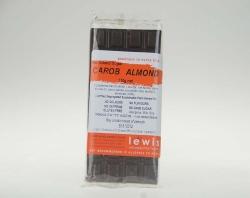 Lewis Carob Coated Almond Bar No Added Sugar 6x110gm