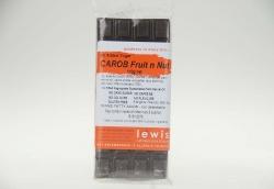 Lewis Carob Coated Fruit & Nut Bar No Added  Sugar 6x110gm