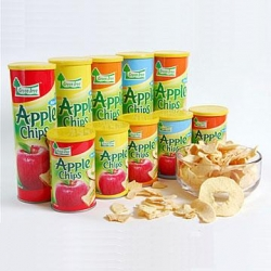 Apple Chips Original 6 x 50g - Click for more info