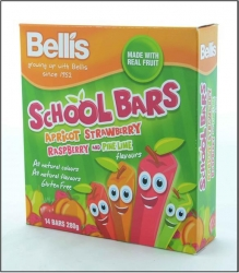 Bellis Assorted School Bars 12x280g
