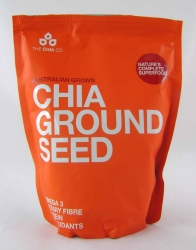 Chia Ground Seed Pouch 8x350g