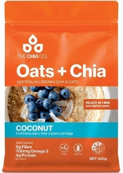 Oats & Chia Coconut Porridge