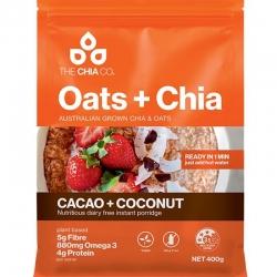 Oats & Chia Cacao & Coconut Porridge