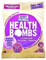 Harvest Box Berry Bazooka Health Bombs 10x40g