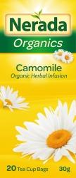 Nerada Organic Camomile 20 Teabags 8x30g