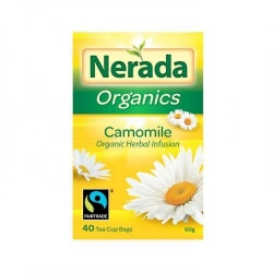 Nerada Organic Camomile 40 Teabags 5x60g