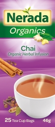 Nerada Organic Chai 25 Teabags 8x46g