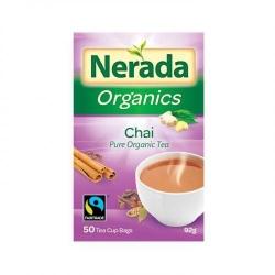 Nerada Organic Chai 50 Teabags 5x93g