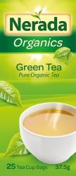 Nerada Organic Green 25 Teabags 8x38g