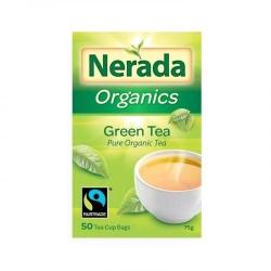 Nerada Organic Green 50 Teabags 5x75g