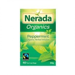 Nerada Organic Peppermint 40 Teabags 5x60g