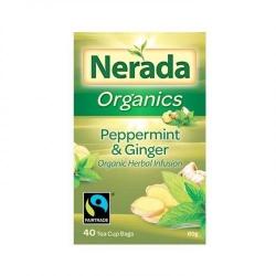 Nerada Organics Peppermint & Ginger Organic Herbal Infusion