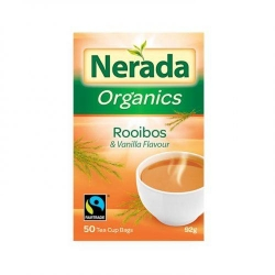 Nerada Organic Rooibos/Vanilla Teabags 93g 5x50