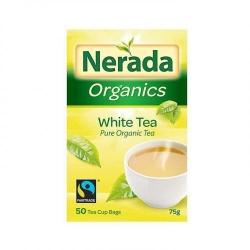 Nerada Organic White Teabags 75g 5x50