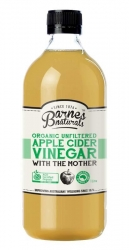 Barnes Naturals Organic Unfiltered Apple Cider Vinegar with The Mother 1lt