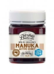 Barnes Natural Active 15+ Manuka Honey 6x250g