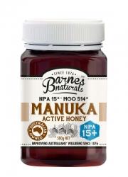 Barnes Natural Active 15+ Manuka Honey 6x500g