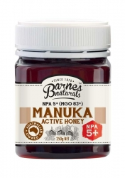 Barnes Natural Active 5+ Manuka Honey 6x250g