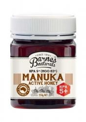 Barnes Natural Active 5+ Manuka Honey 6x250g