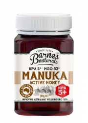Barnes Natural Active 5+ Manuka Honey 6x500g