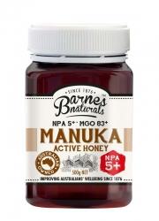 Barnes Natural Active 5+ Manuka Honey 6x500g