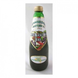 Mountain Fresh Apple & Blackcurrant 12x400ml - Click for more info