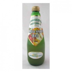 Mountain Fresh Apple & Apricot Juice 12x400ml - Click for more info