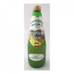 Mountain Fresh Apple & Pineapple Crush 12x400ml - Click for more info