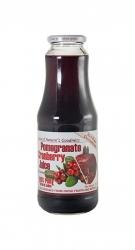 Pomegranate & Cranberry 100% Pure Natural Juice 12x1itre